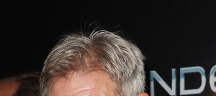 Harrison ford at enders game premiere