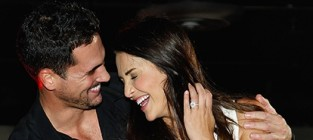 Andi dorfman with josh murray
