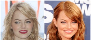 15 stars who fake their natural hair color emma stone