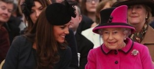 Kate middleton queen elizabeth
