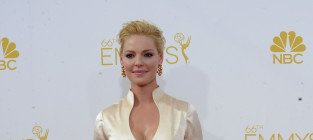 Katherine heigl at the 2014 emmys