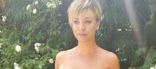 Kaley cuoco emmy photo