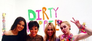 Miley cyrus kendall jenner and their moms