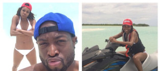Dwyane wade and gabrielle union honeymoon photo