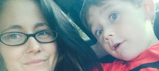 Jenelle evans and jace pic