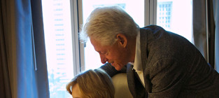 Bill, Hillary and Charlotte