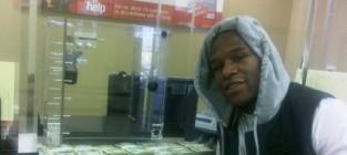 Floyd mayweather the money man on instagram floyd makes a deposit