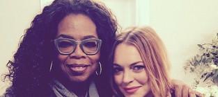 Lindsay lohan and oprah