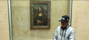Jay Z and Blue Ivy: Mona Lisa Chillin'