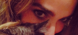 Nikki reed cat photo