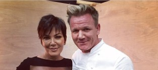 Kris jenner and gordon ramsey un photoshopped