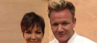 Kris jenner and gordon ramsay photoshopped