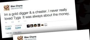 Blac Chyna Tweets?