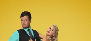 Michael waltrip and emma slater photo