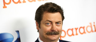 13 most glorious mustaches in hollywood nick offerman
