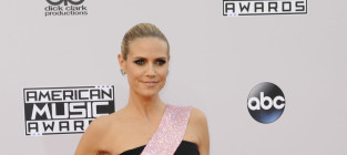 Heidi klum at the american music awards