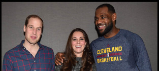 Kate middeton lebron james prince william