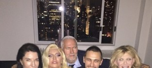 James franco courtney love lady gaga photo