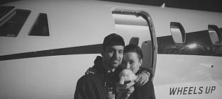 Demi Lovato, Wilmer Valderrama, Dog