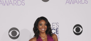 Gabrielle union at the peoples choice awards