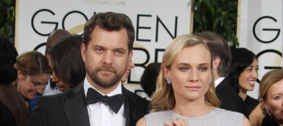 Diane kruger and joshua jackson at the golden globes