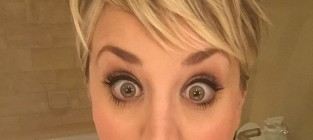 Kaley cuoco shocked