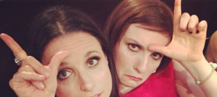 Julia louis dreyfus and lena dunham