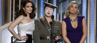 Margaret cho at the golden globes