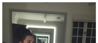 Kim Kardashian Posts No Makeup Selfie, Uses Bad Grammar