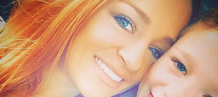 Maci Bookout and Bentley Photo