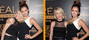Nina dobrev and julianne hough pic