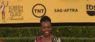 Lupita nyongo at the sag awards
