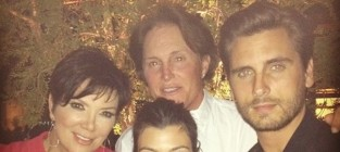 Kourtney scott kris and bruce