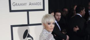 Rita Ora at the 2015 Grammys