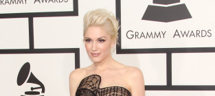 Gwen Stefani at the 2015 Grammys