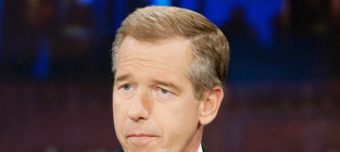 Brian williams does the news