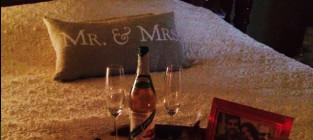 Jill duggars bible and apple juice slash wine bottle