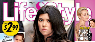 Kourtney catches scott