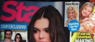 Kendall jenner pregnant cover