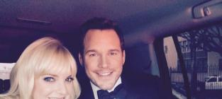Chris pratt and anna faris oscars bound