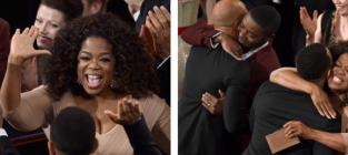 Oprah at the oscars