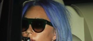 Amanda bynes purple hair
