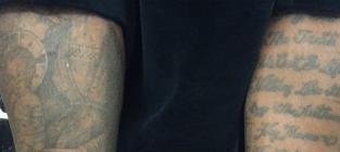 Kanye west tattoos