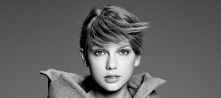 Taylor swift black and white