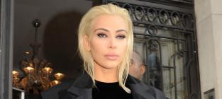 Kim kardashian blonde and beautiful