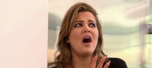 Khloe kardashian reaction