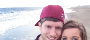 Jessa duggar ben seewald beach photo
