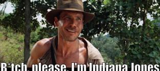 Harrison Ford: I'm Indiana Jones, Y'all