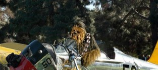Harrison ford wookie on the back nine