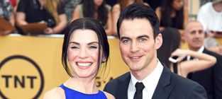 13 famous women who married non famous men julianna margulies and keith lieberthal